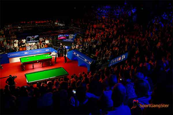Crucible Hall Snooker